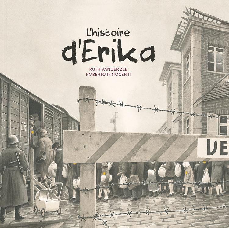 Couverture de L'histoire d'Erika