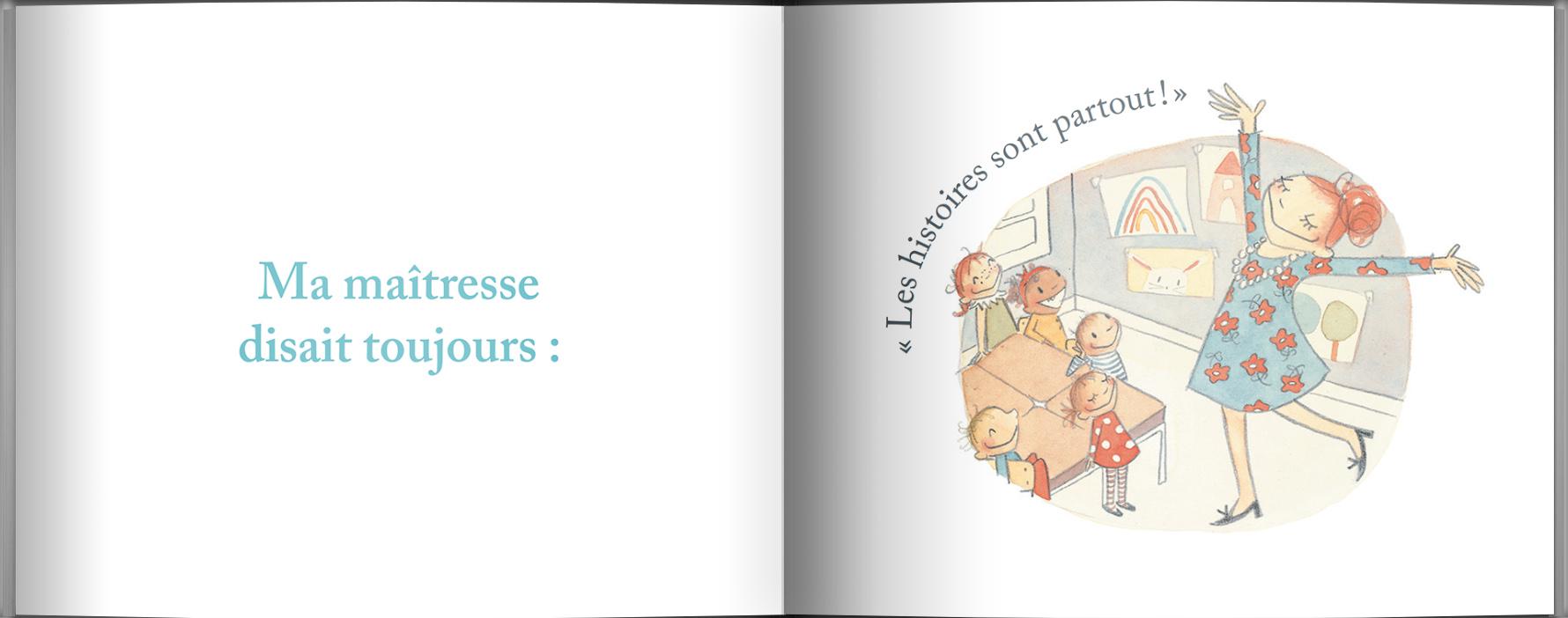 Page intérieure du livre Les histoires de Raffi