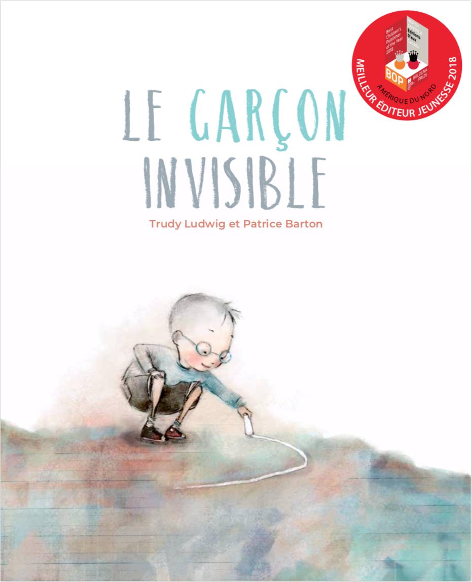 Couverture de Le garçon invisible