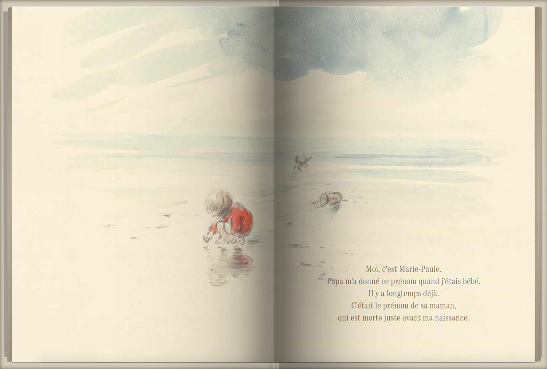 Page intérieure du livre Cassandre