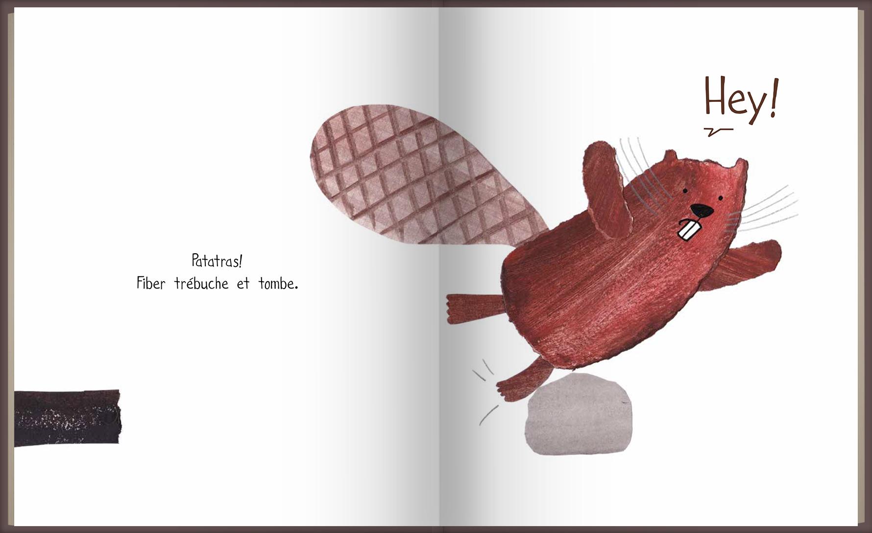 Page intérieure du livre C'est à moi!