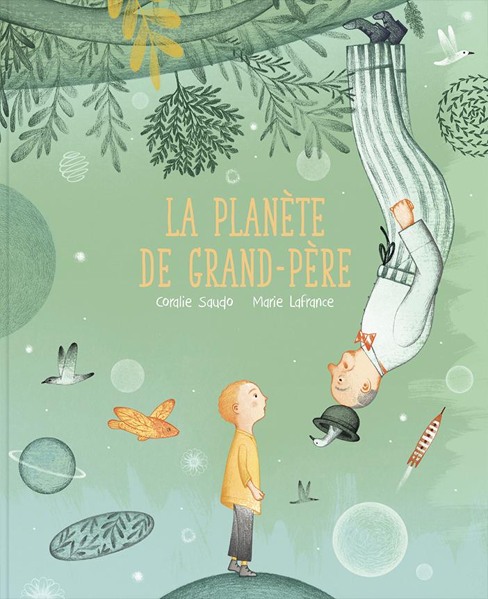 Couverture de La planète de grand-père