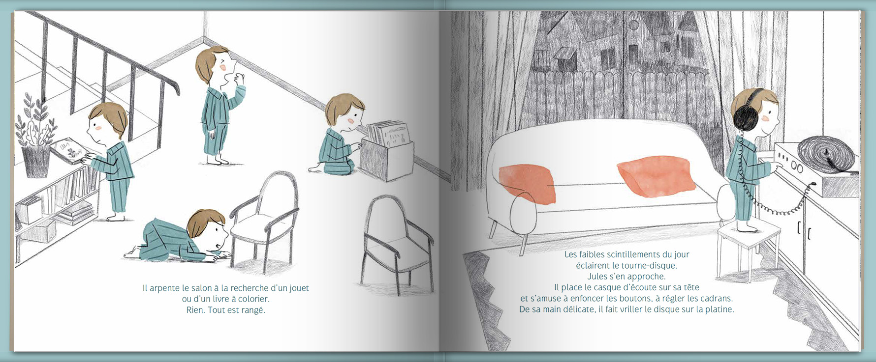 Page intérieure du livre Nocture