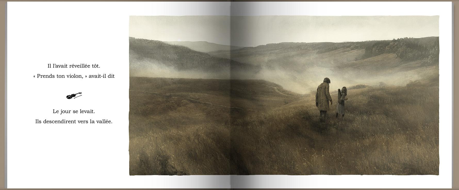 Page intérieure du livre Le barrage