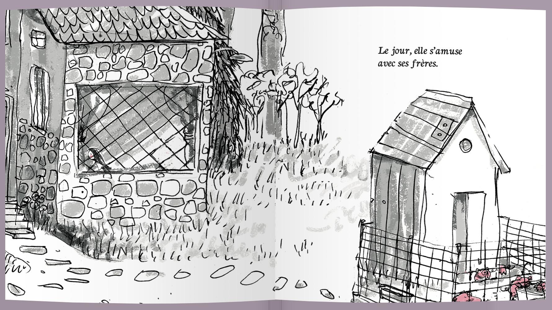 Page intérieure du livre Adélie