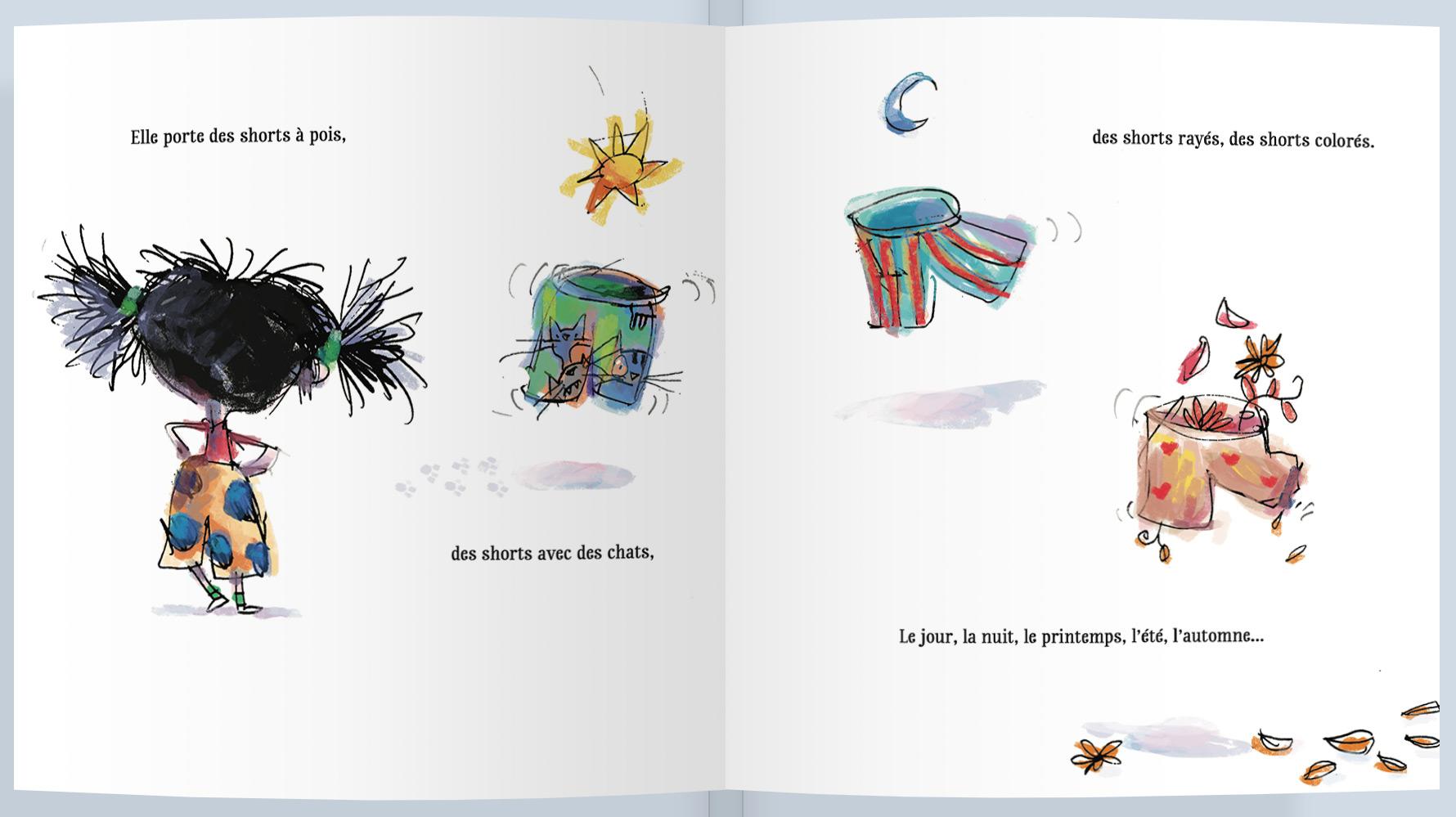 Page intérieure du livre Charlotte