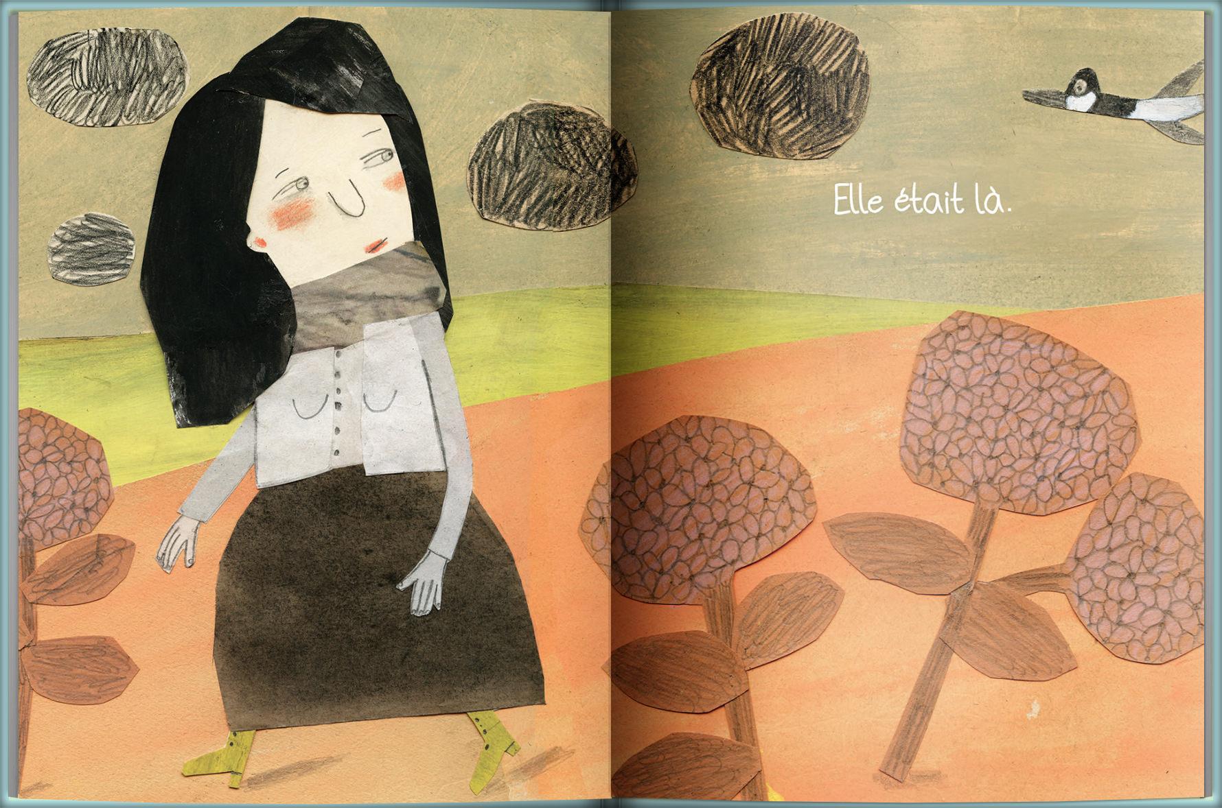 Page intérieure du livre Elle sera toujours là