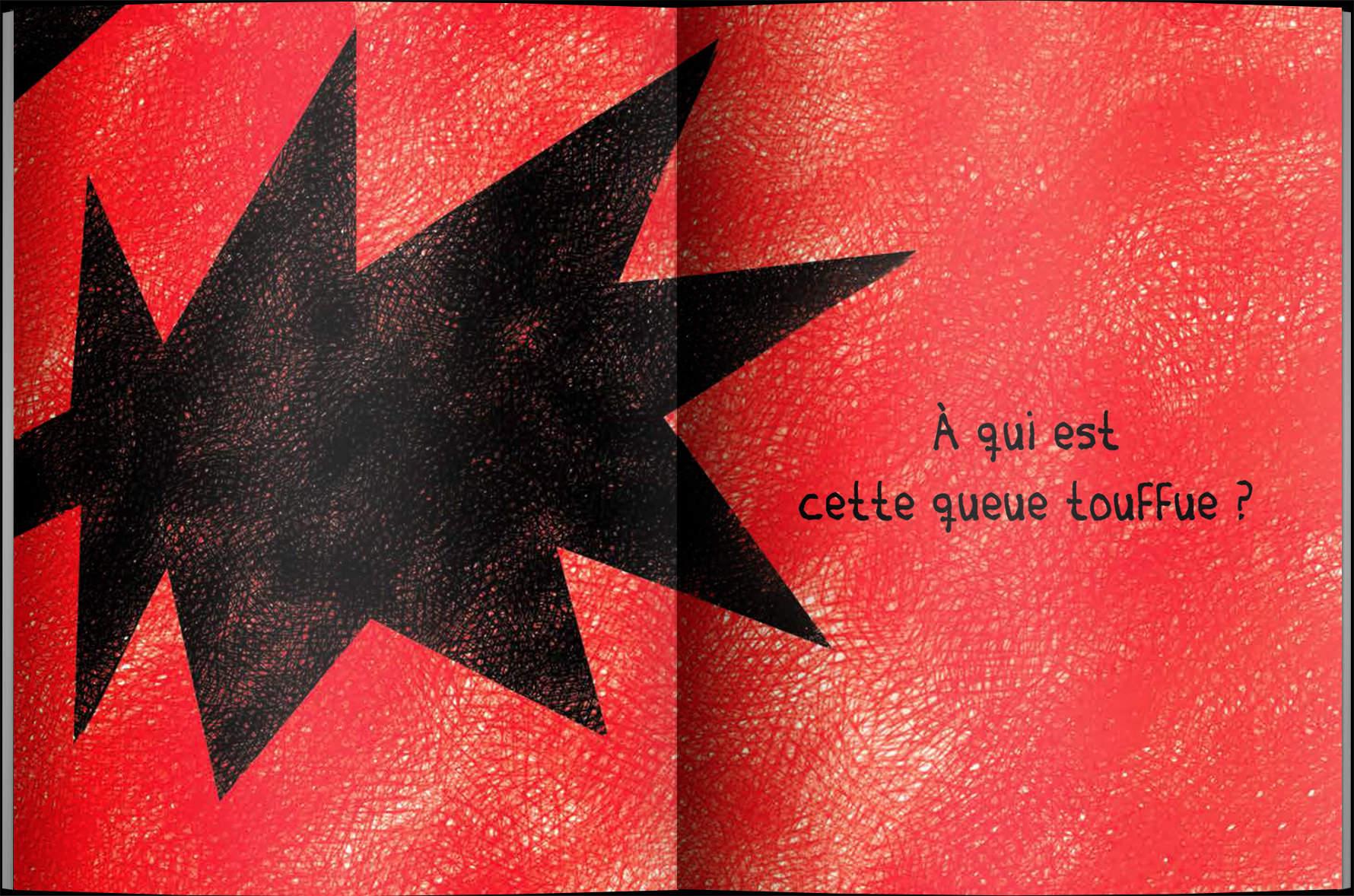 Page intérieure du livre À qui sont ces grandes dents?