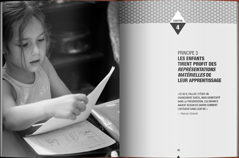 Page intérieure du livre Guide pour un enseignement durable au primaire
