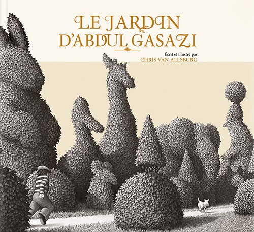 Couverture de Le jardin d'Abdul Gasazi