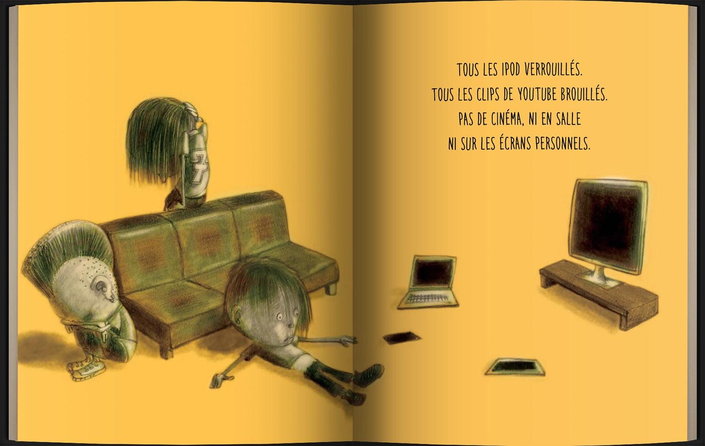 Page intérieure du livre Si j'étais ministre de la culture
