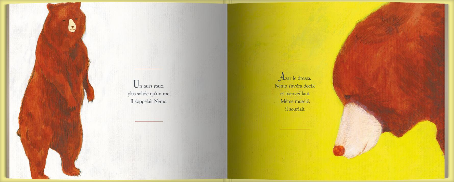 Page intérieure du livre Le fils de l'ours