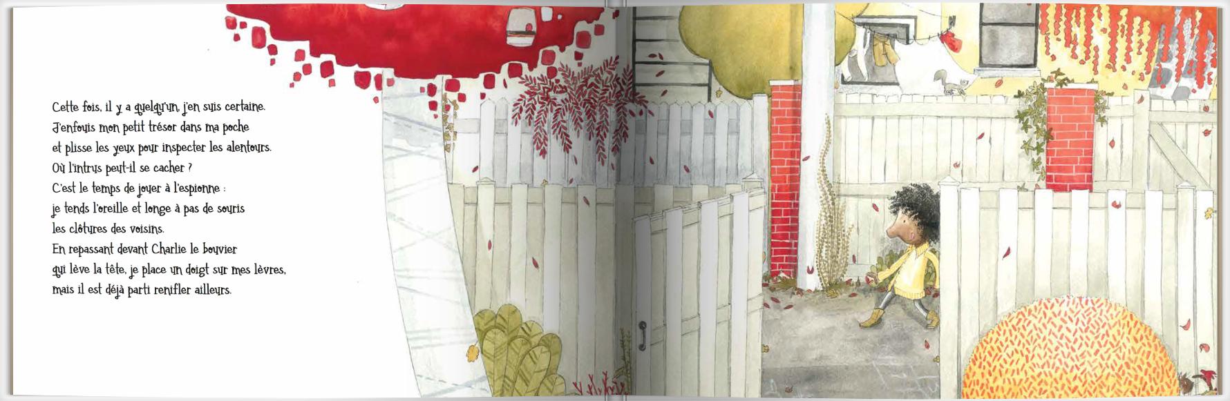 Page intérieure du livre La ruelle