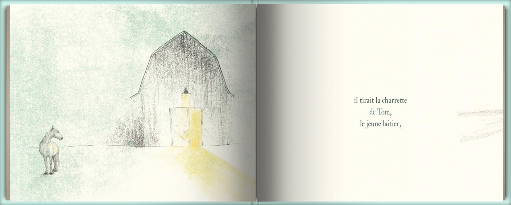 Page intérieure du livre Henry
