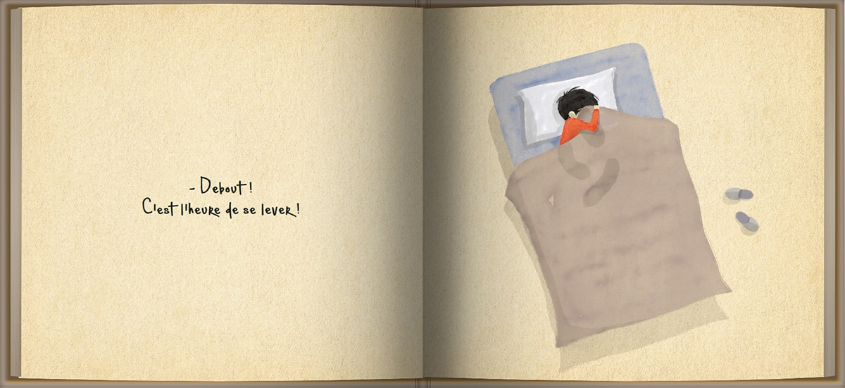 Page intérieure du livre Debout!