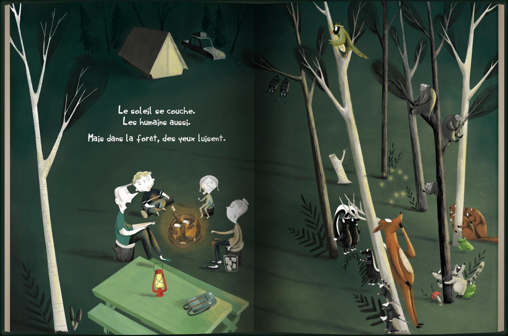 Page intérieure du livre Tellement Sauvage!