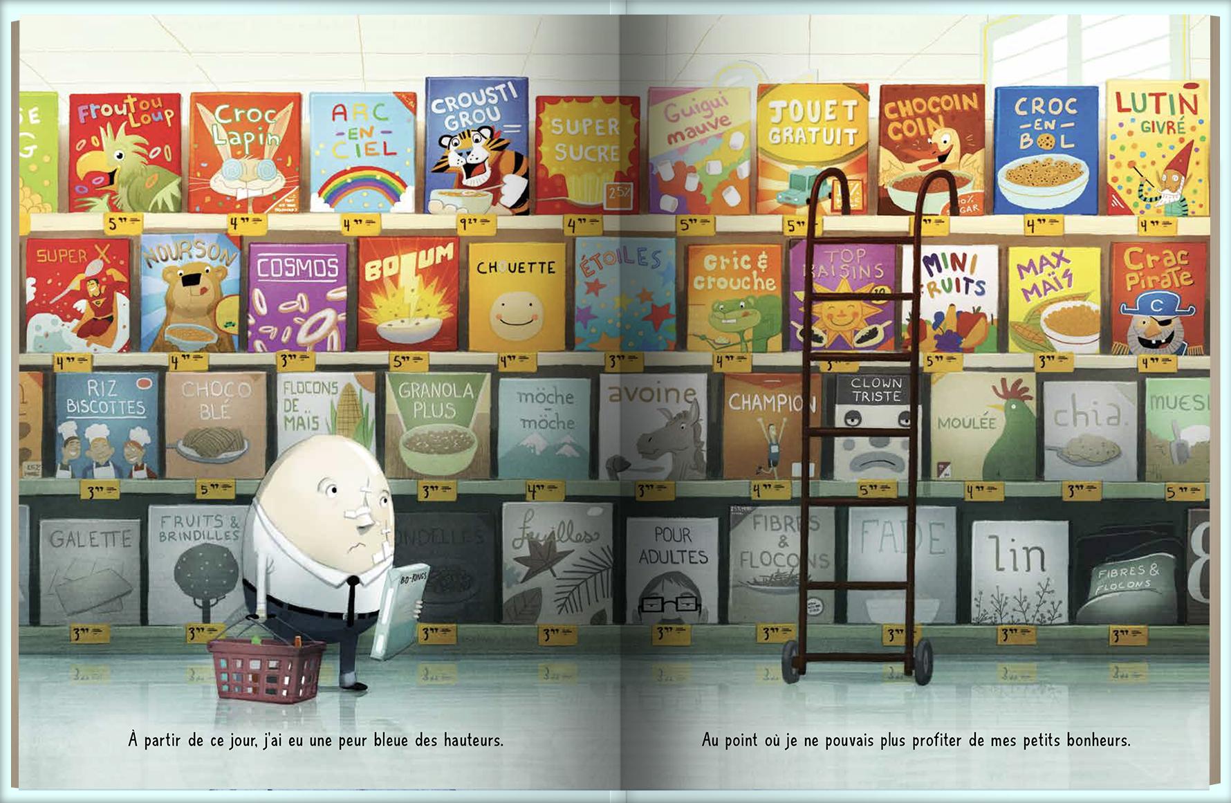 Page intérieure du livre Après la chute