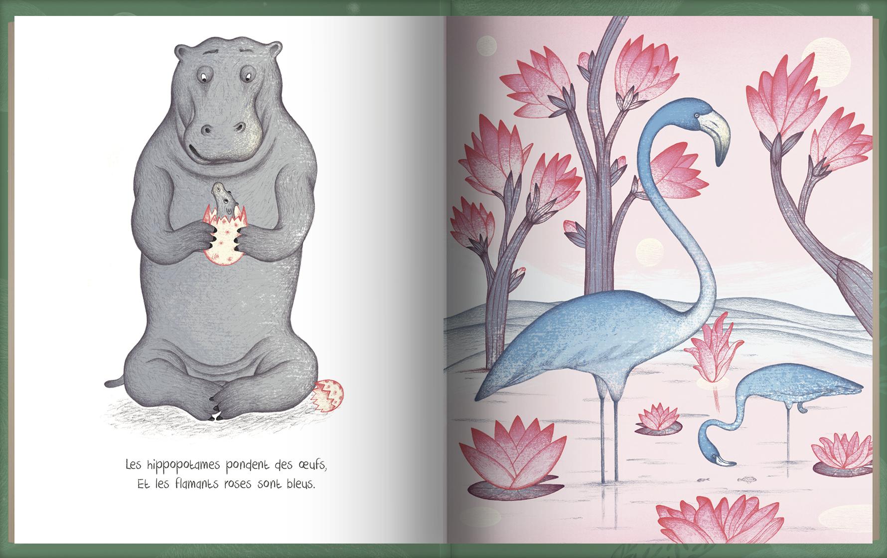 Page intérieure du livre La planète de grand-père