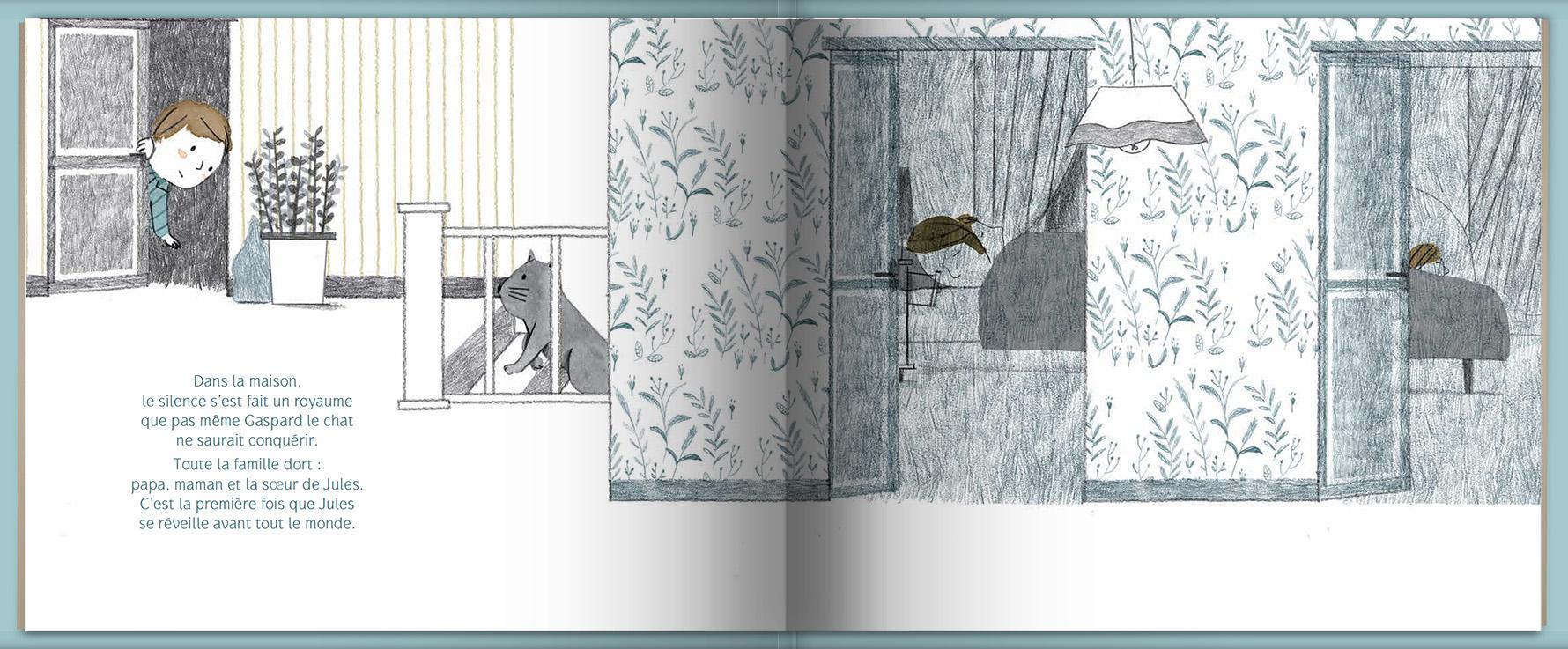 Page intérieure du livre Nocturne