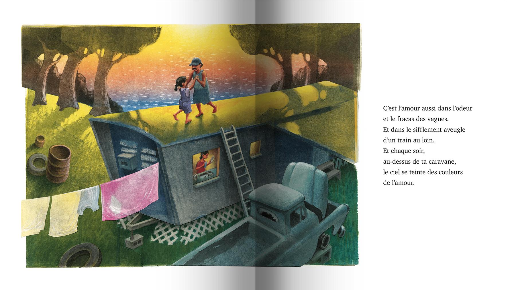 Page intérieure du livre Amour