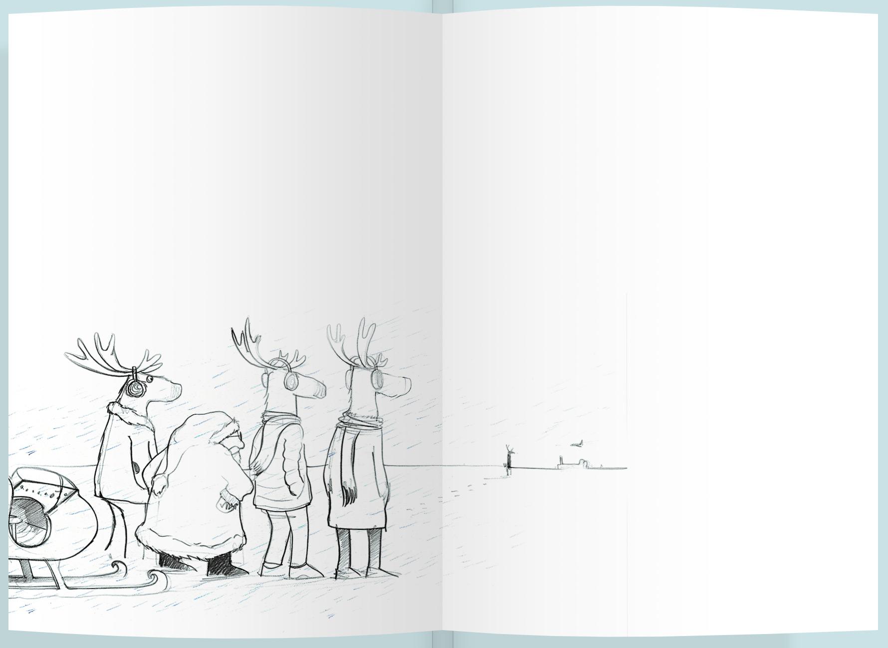 Page intérieure du livre Elijah Betz, le renne punk d'Angleterre