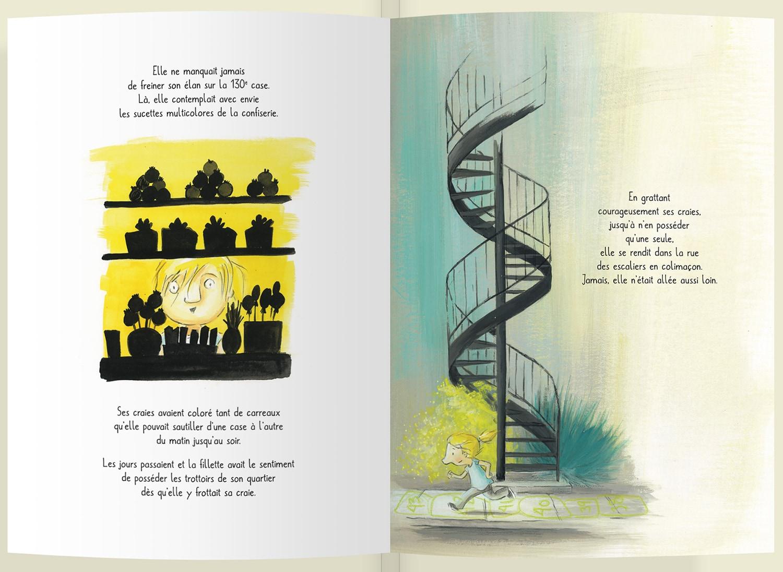 Page intérieure du livre La case 144