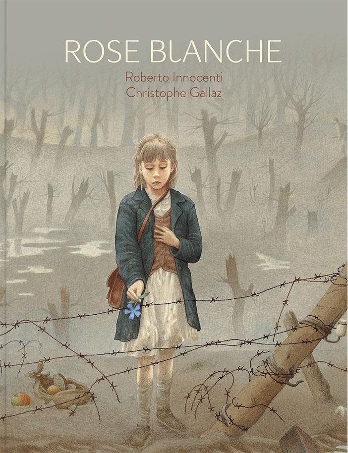 Couverture de Rose Blanche