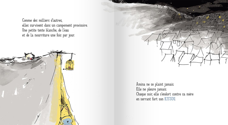 Page intérieure du livre Kissou