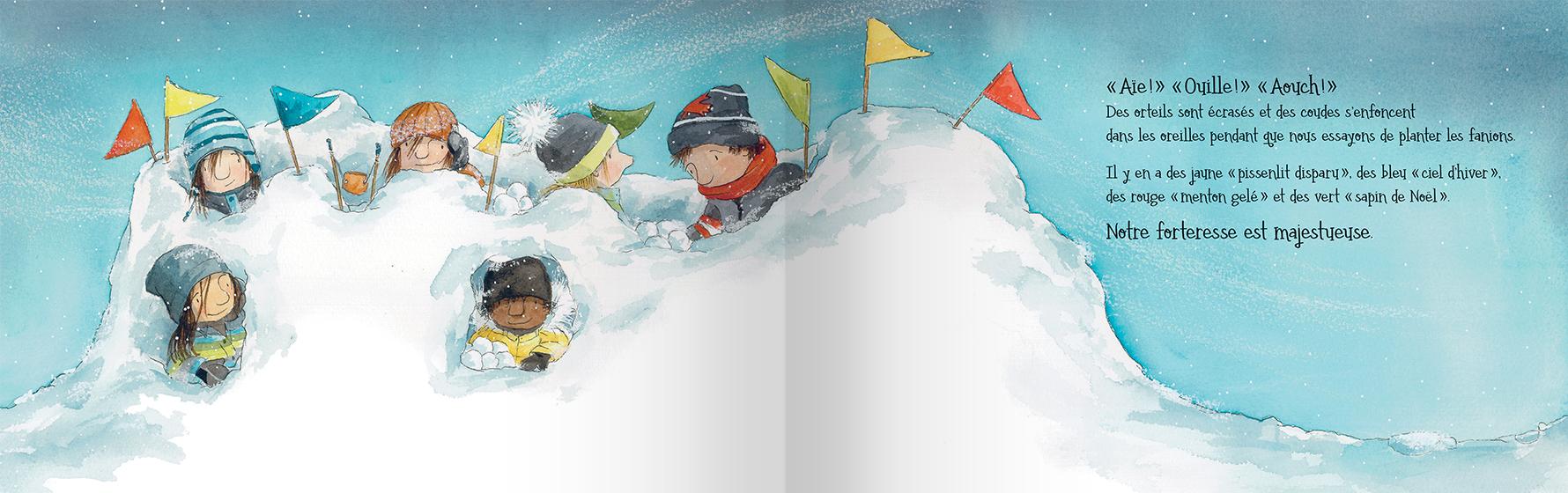 Page intérieure du livre La ruelle d'hiver