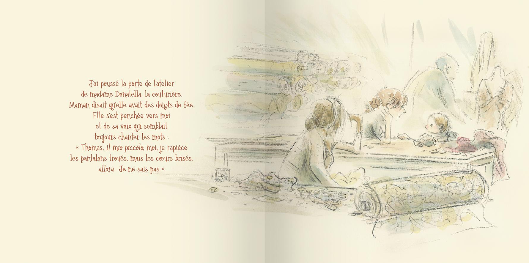 Page intérieure du livre Thomas