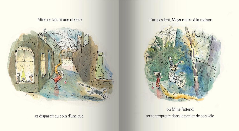 Page intérieure du livre Maya & Mine
