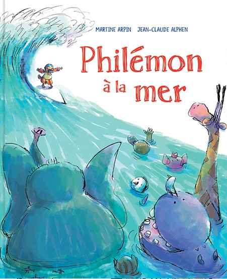 Couverture de Philémon à la mer