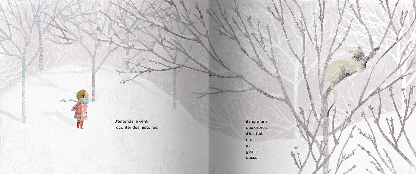 Page intérieure du livre J'ai trouvé l'espoir dans un cerisier