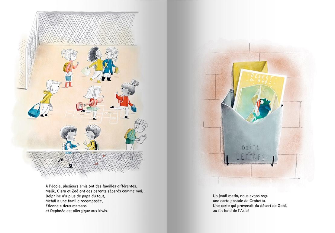 Page intérieure du livre La réparation de mes parents