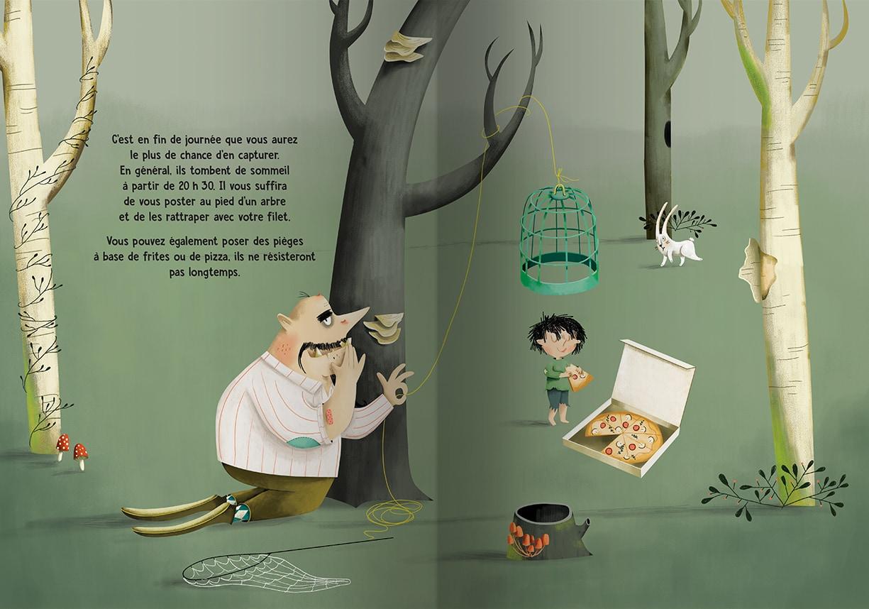 Page intérieure du livre Il ne faut pas mettre les enfants au congélateur
