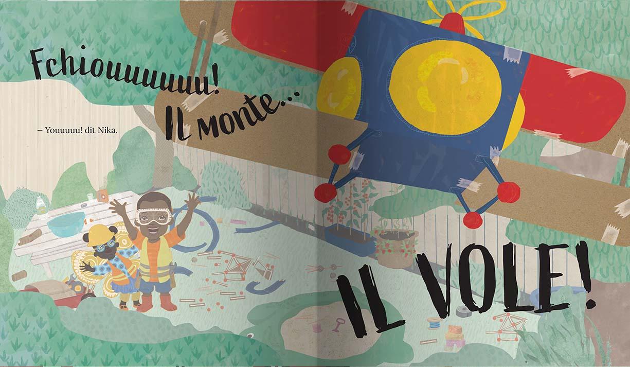 Page intérieure du livre Vas-y Jabari !